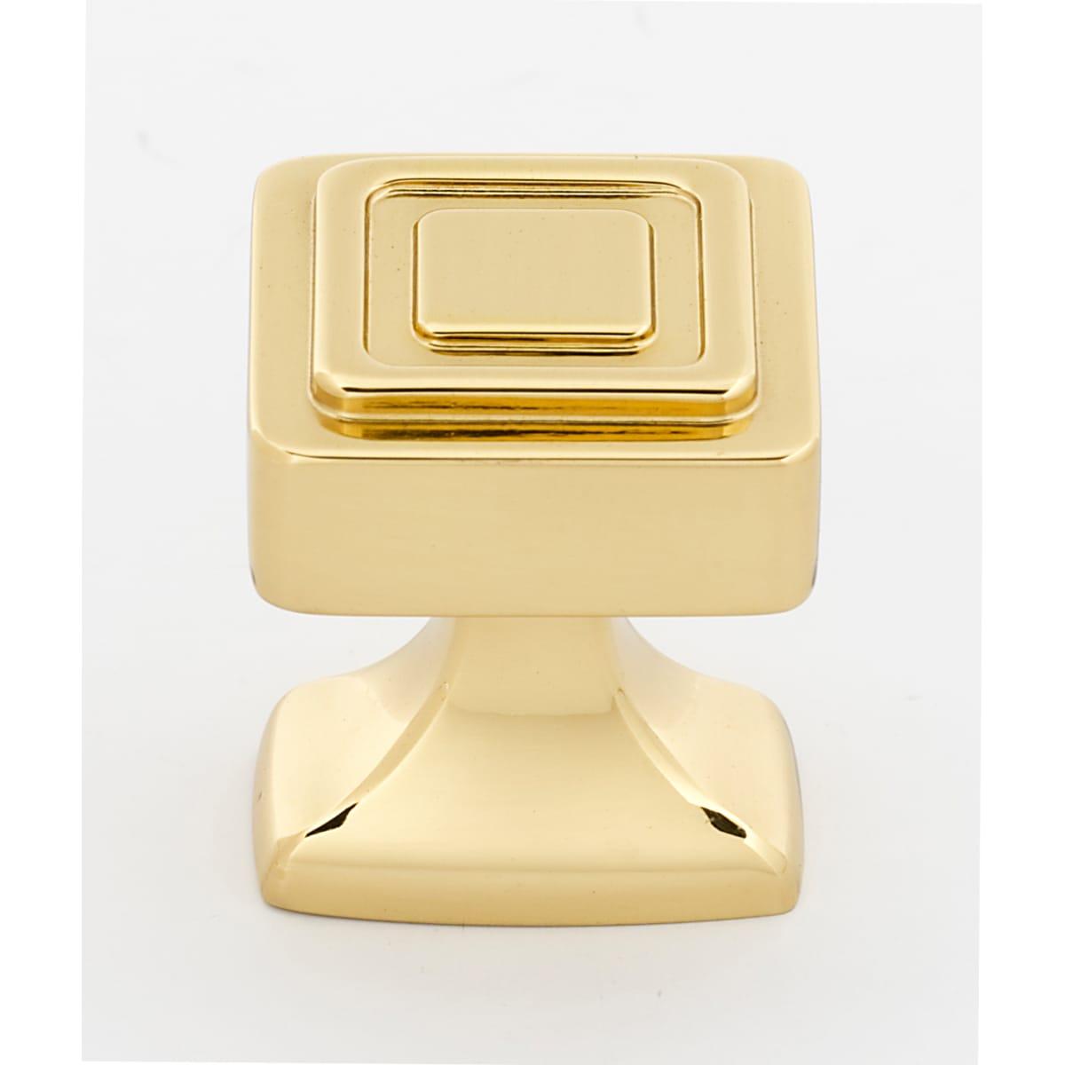 Alno Cube 1-1/4 Inch Square Cabinet Knob