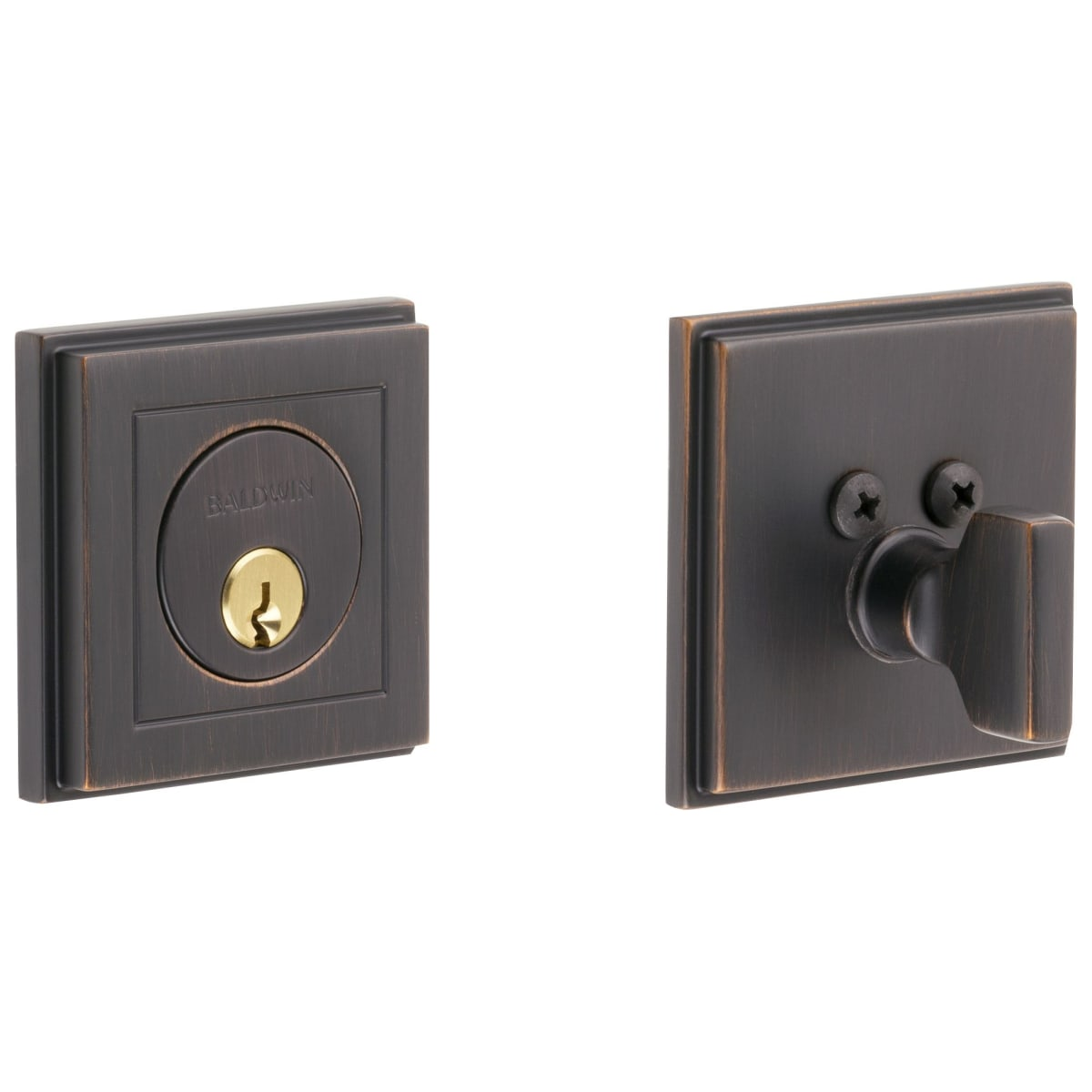 Baldwin Hollywood Hills Single Cylinder Keyed Entry Deadbolt