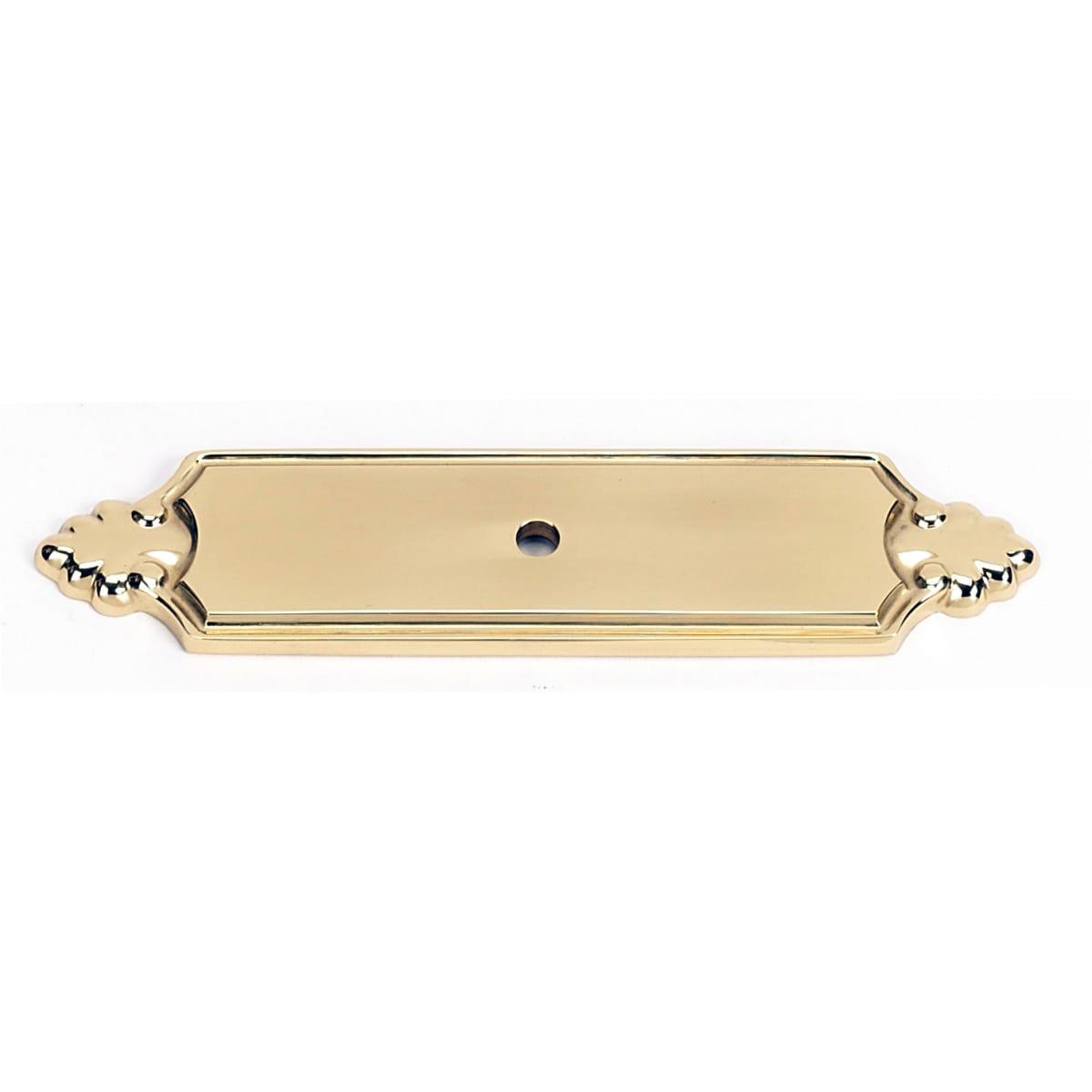 Alno Bella 4-1/4 Inch Long Cabinet Knob Backplate