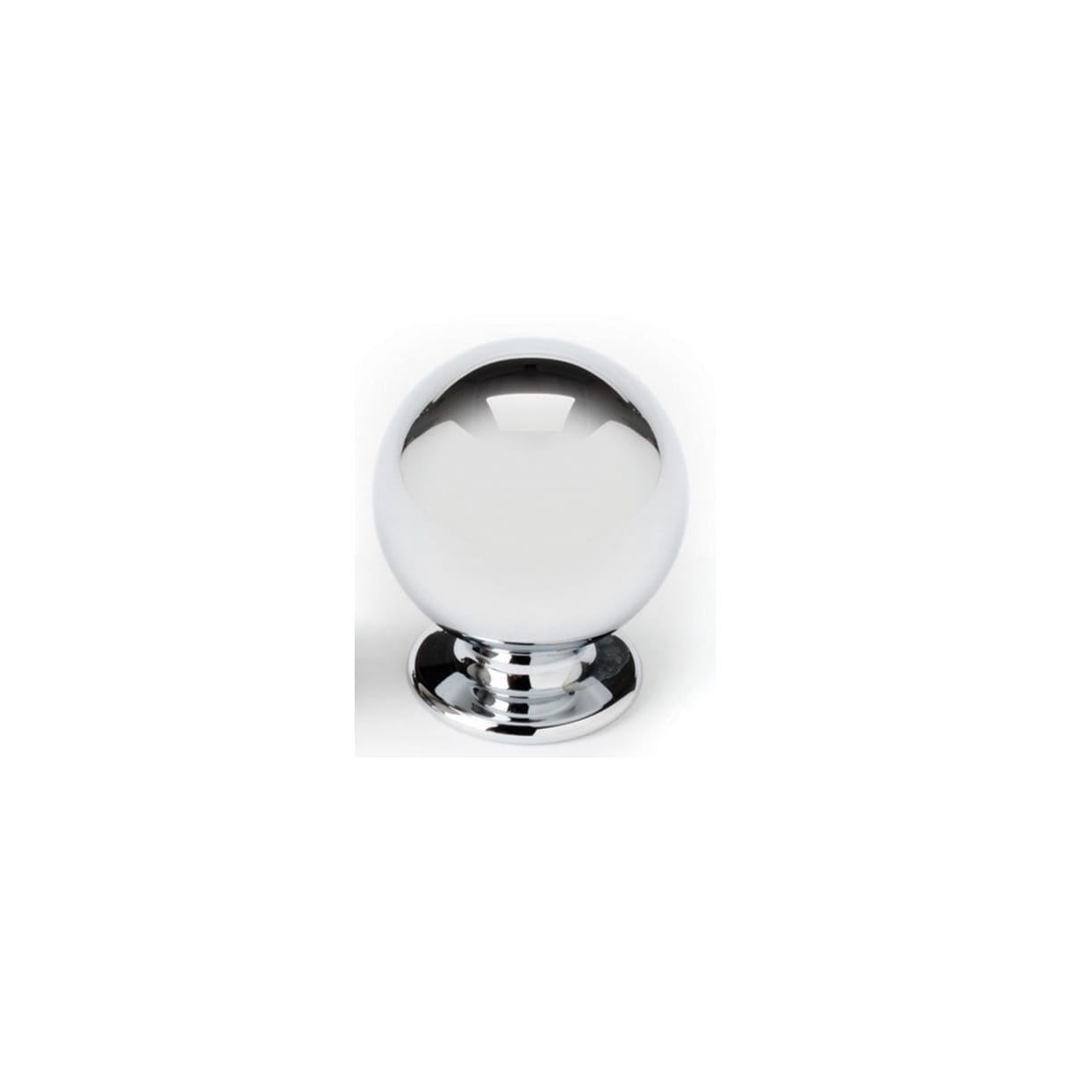 Model: A1030-PC | Alno Knobs 5/8 Inch Round Cabinet Knob