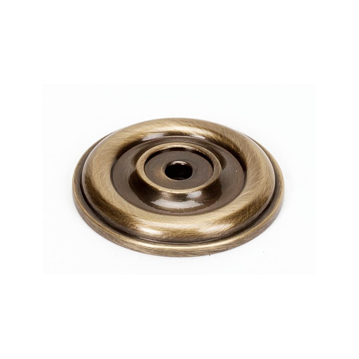Alno Bella 1-3/8 Inch Diameter Cabinet Knob Backplate