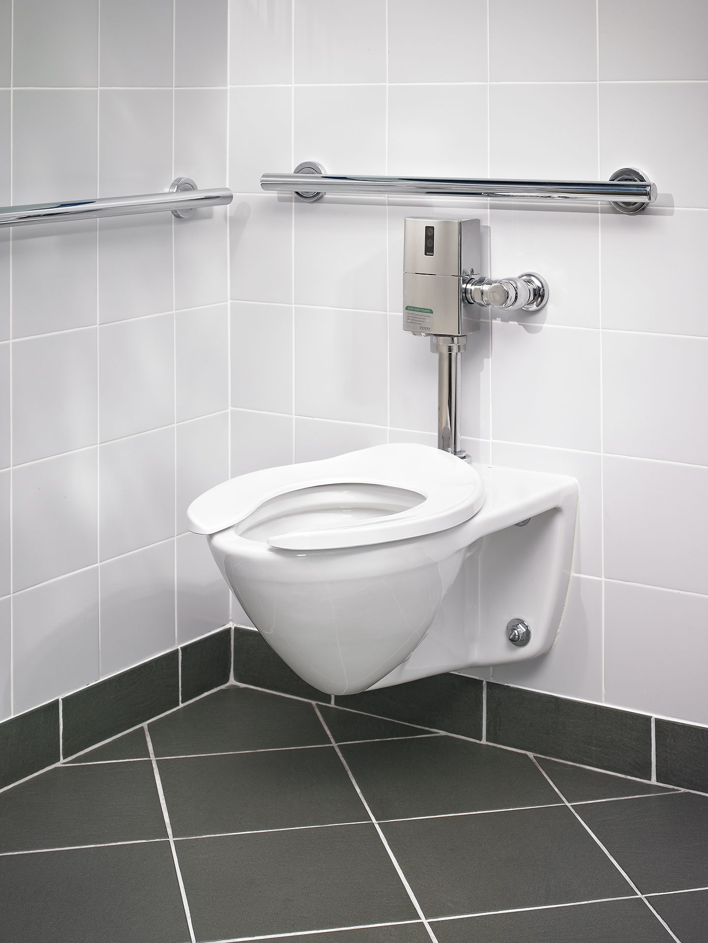 Totousa Ct708e 01 Commercial Flushometer High Efficiency Toilet 1 28 Gpf Elongated Bowl Ct708e 01 Snyder Diamond