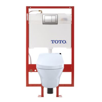 TotoUsa MH Connect+ C200 Wall-Hung Toilet - 1.28 GPF & 0.9 GPF - PEX Supply