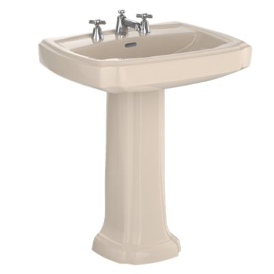 "TotoUsa Guinevere® 27"" Pedestal Lavatory"