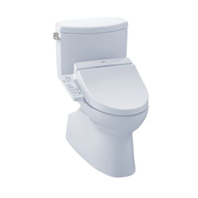 TotoUsa Vespin® II Connect+™ C100 Two-Piece Toilet - 1.28 GPF