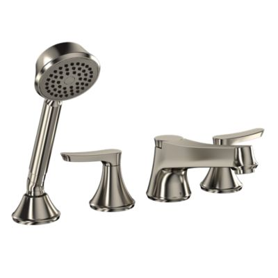 TotoUsa Wyeth™ Deck-Mount Tub Filler Trim with Handshower