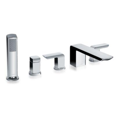 TotoUsa Soirée® Deck-Mount Bath Faucet with Handshower and Diverter