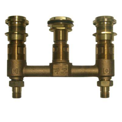 "TotoUsa Kiwami®      Renesse®      Deck-Mount Bath Faucet - Valve (1/2"")"