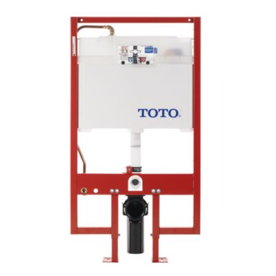 TotoUsa DUOFIT In-Wall Tank System, 1.28 GPF & 0.9 GPF - Copper Supply