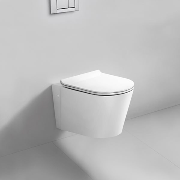 Blu Bathworks 0.8/1.6G (3/6L) dual-flush wall-mount toilet