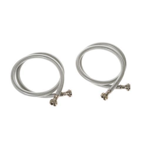 5 Foot Stainless  Washer Hose - 10 Pack