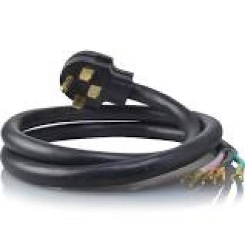 ADC 6 Foot 4 Wire Range Cord 40 AMP - 12 Pack