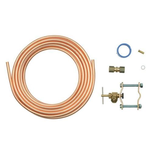 ADC 15 Foot Copper Ice maker water line kit