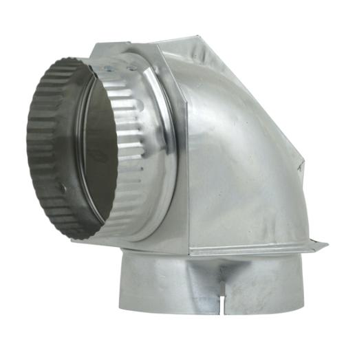 ADC Dryer Vent 90 Degree Elbow (aluminum)