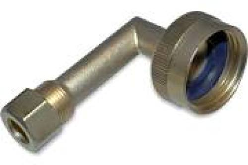 "ADC Dishwasher Fitting 3/4"" x 3/8"" Elbow"