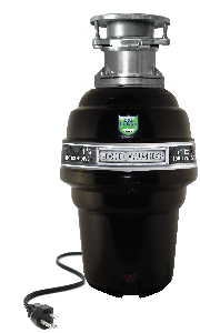 1000 BATCH FEED FOOD WASTE DISPOSER 11/4 HORSEPOWER