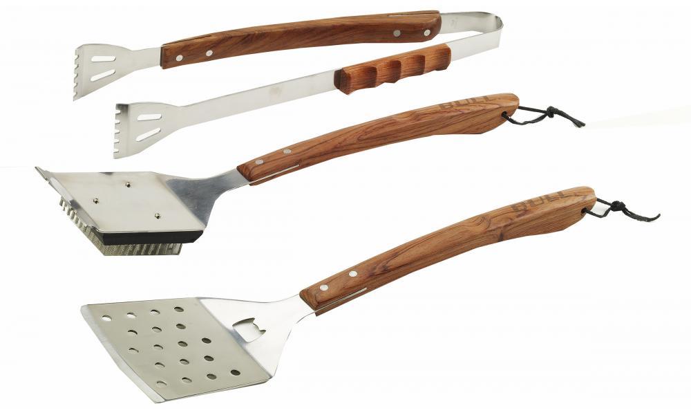 Vineyard Rosewood 3PC BBQ Tool Set