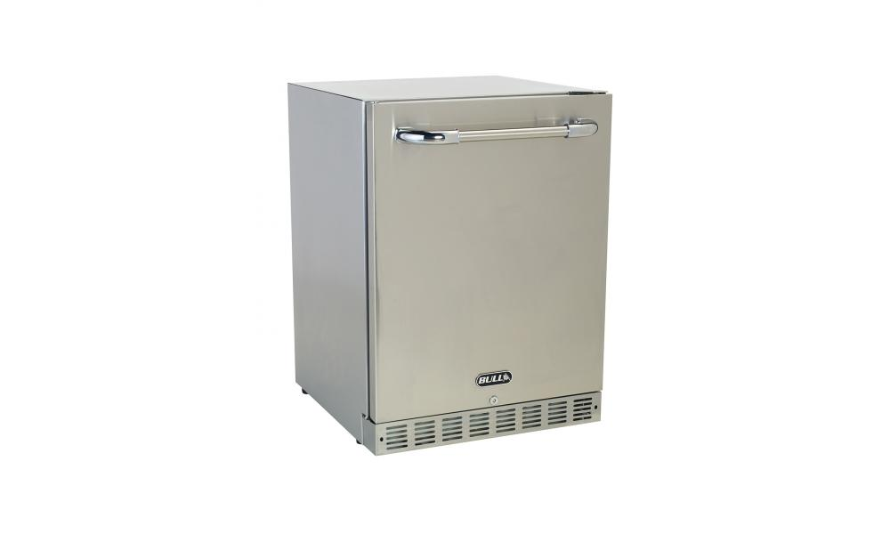 Premium Outdoor Refrigerator Open