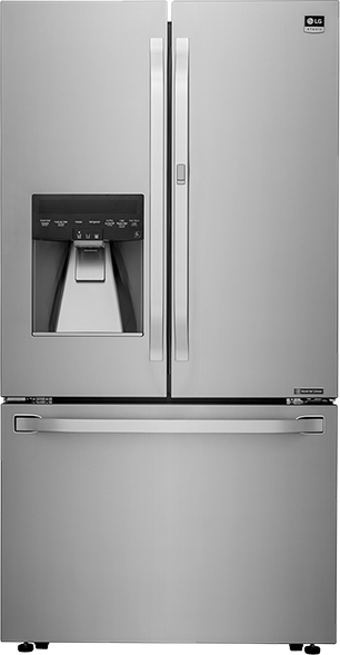 3-DOOR COUNTER-DEPTH REFRIGERATOR