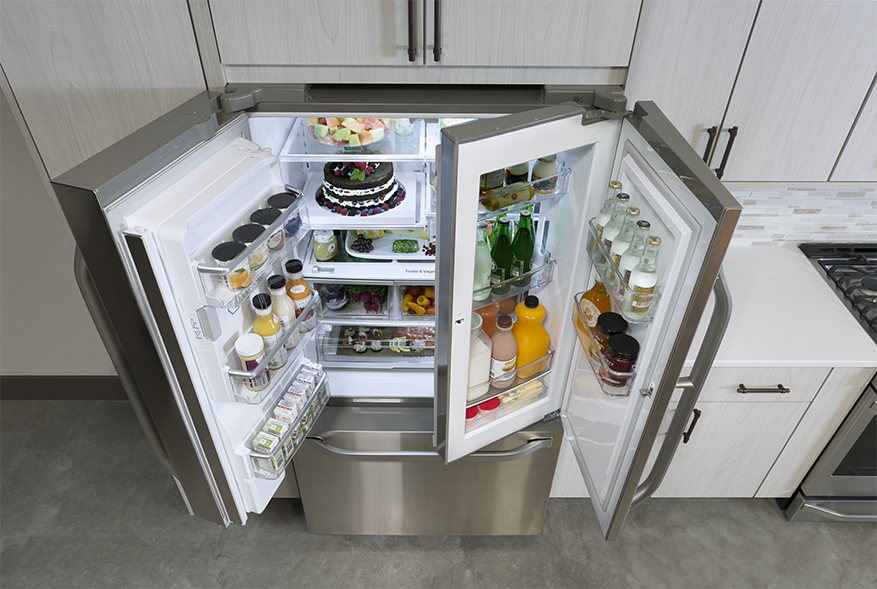 Model: LSFXC2476S | 3-DOOR COUNTER-DEPTH REFRIGERATOR