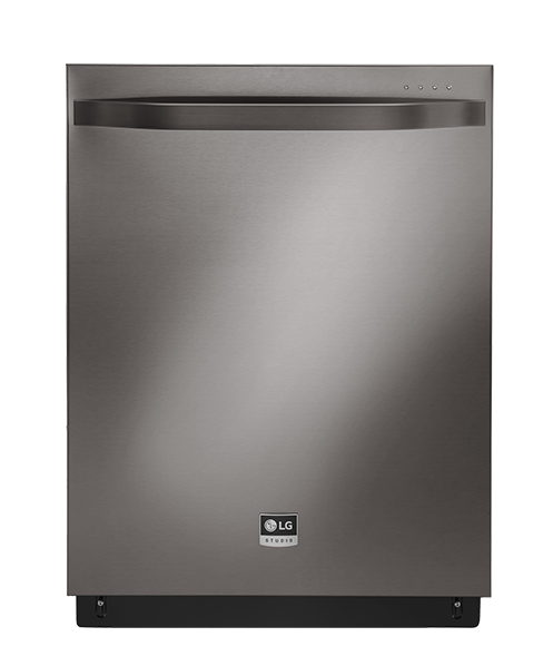 BLACK STAINLESS STEEL TOP CONTROL DISHWASHER WITH TRUESTEAM TECHNOLOGY