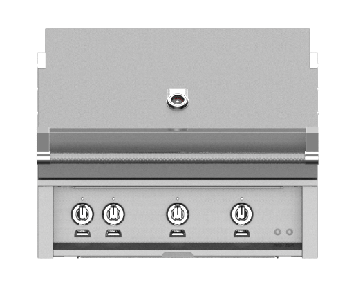 "Hestan 36"" BUILT-IN GRILL (SEAR AND TRELLIS BURNERS)"