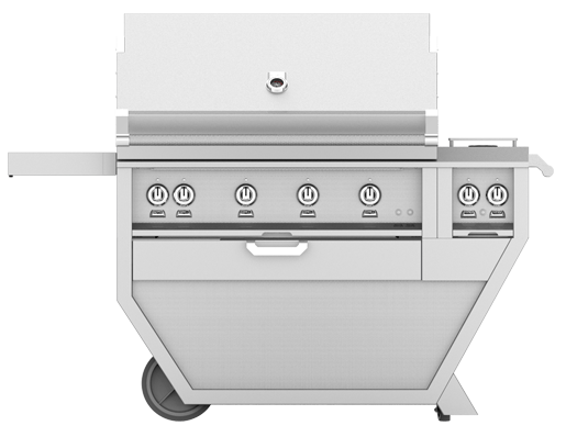 "Hestan 36"" FREESTANDING (ALL TRELLIS BURNERS) DELUXE CART"