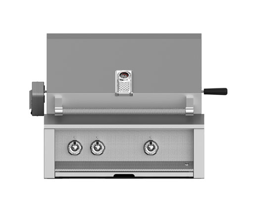 "Hestan 30"" Grill Built-in 1 Sear and the rest U-Burners"