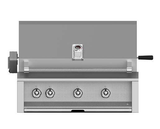 "Hestan 36"" Grill Built-in 1 Sear and the rest U-Burners"