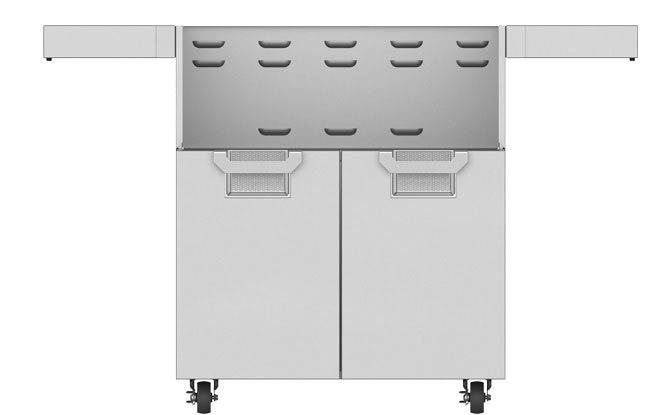 "Hestan 30"" Double Door Tower Cart"