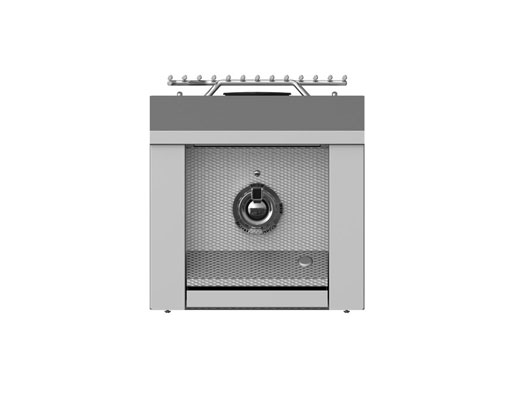 Hestan Single Side Burner, Built-in, 12""