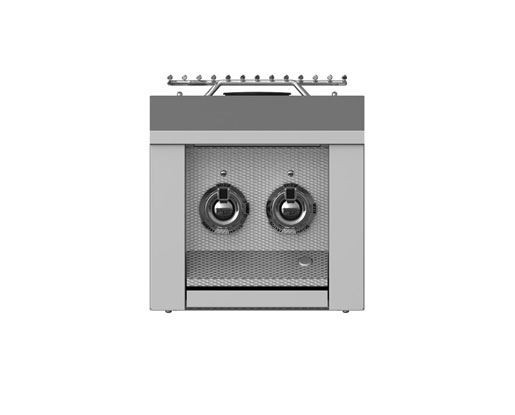 Hestan Double Side Burner, Built-In, 12""
