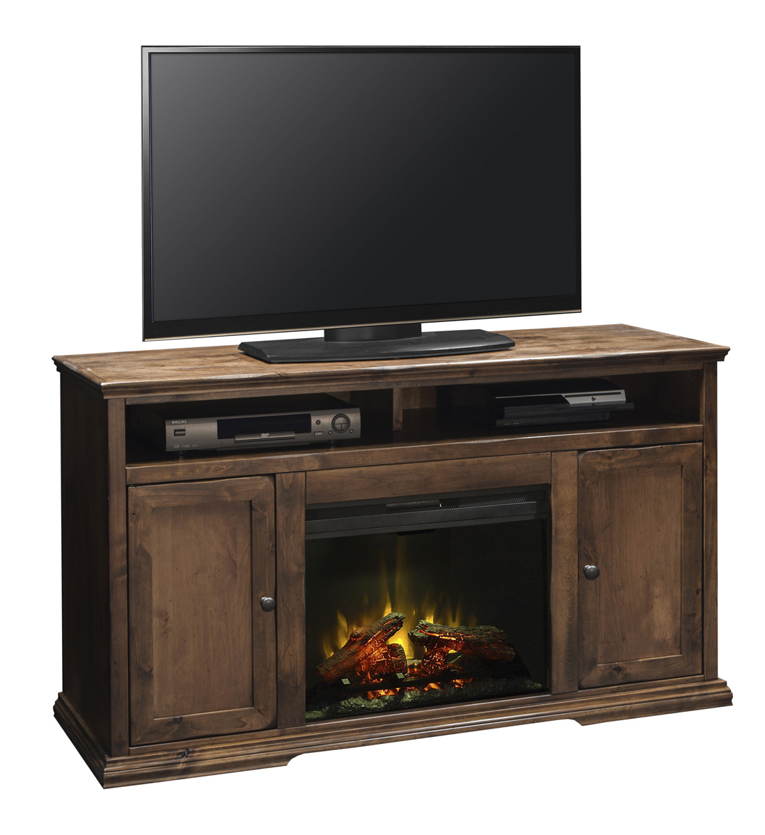 "Legends Furniture 59"" Fireplace Console"