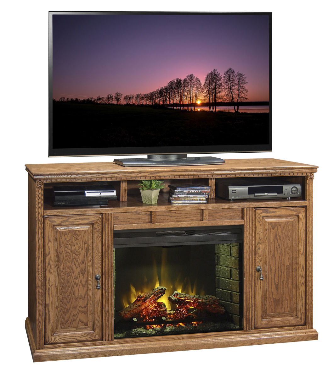 "Legends Furniture 62"" Fireplace Console"