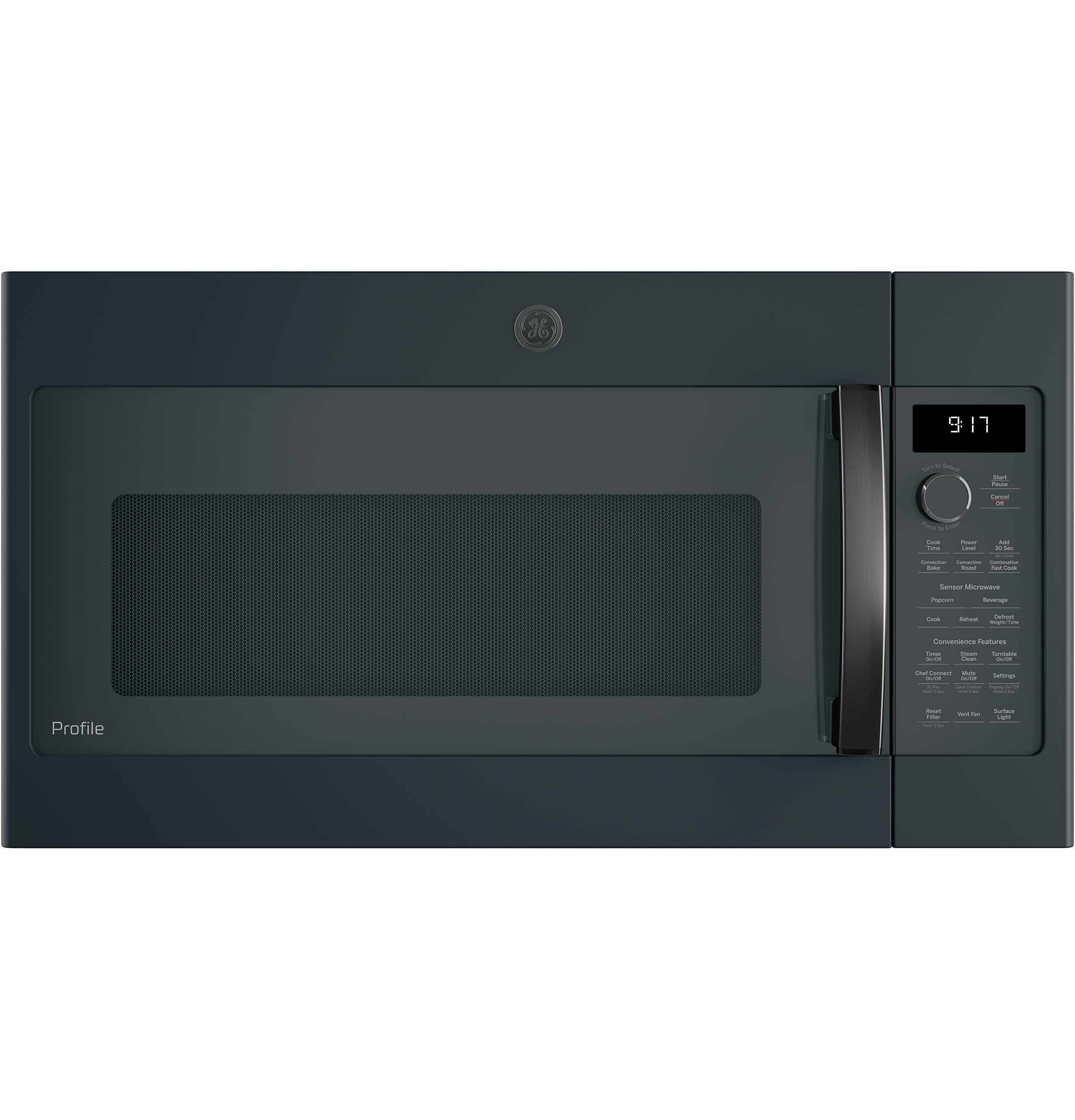 GE Profile GE Profile™ Series 1.7 Cu. Ft. Convection Over-the-Range Microwave Oven