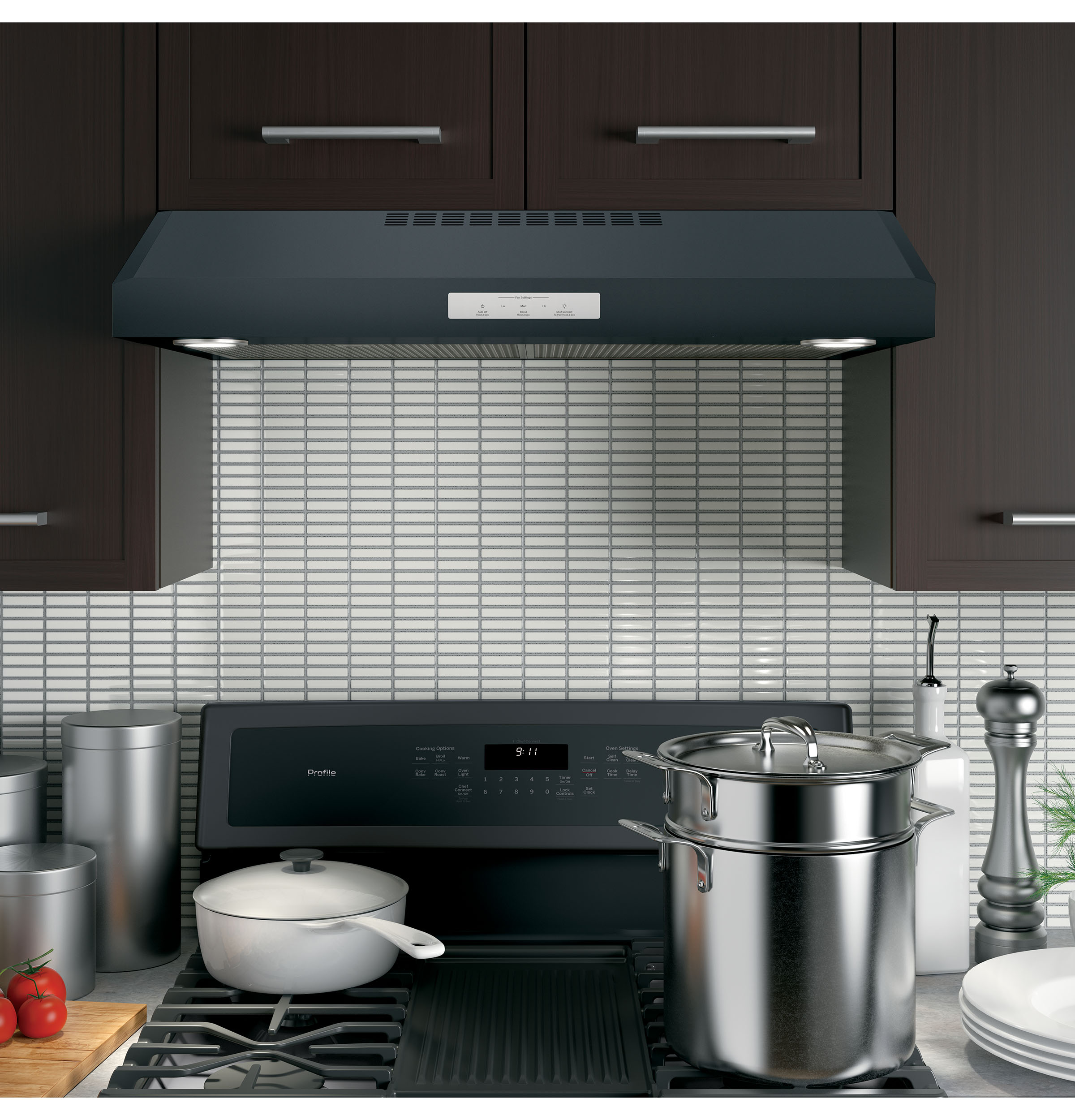 "Model: PVX7300FJDS | GE Profile GE Profile™ Series 30"" Under The Cabinet Hood"