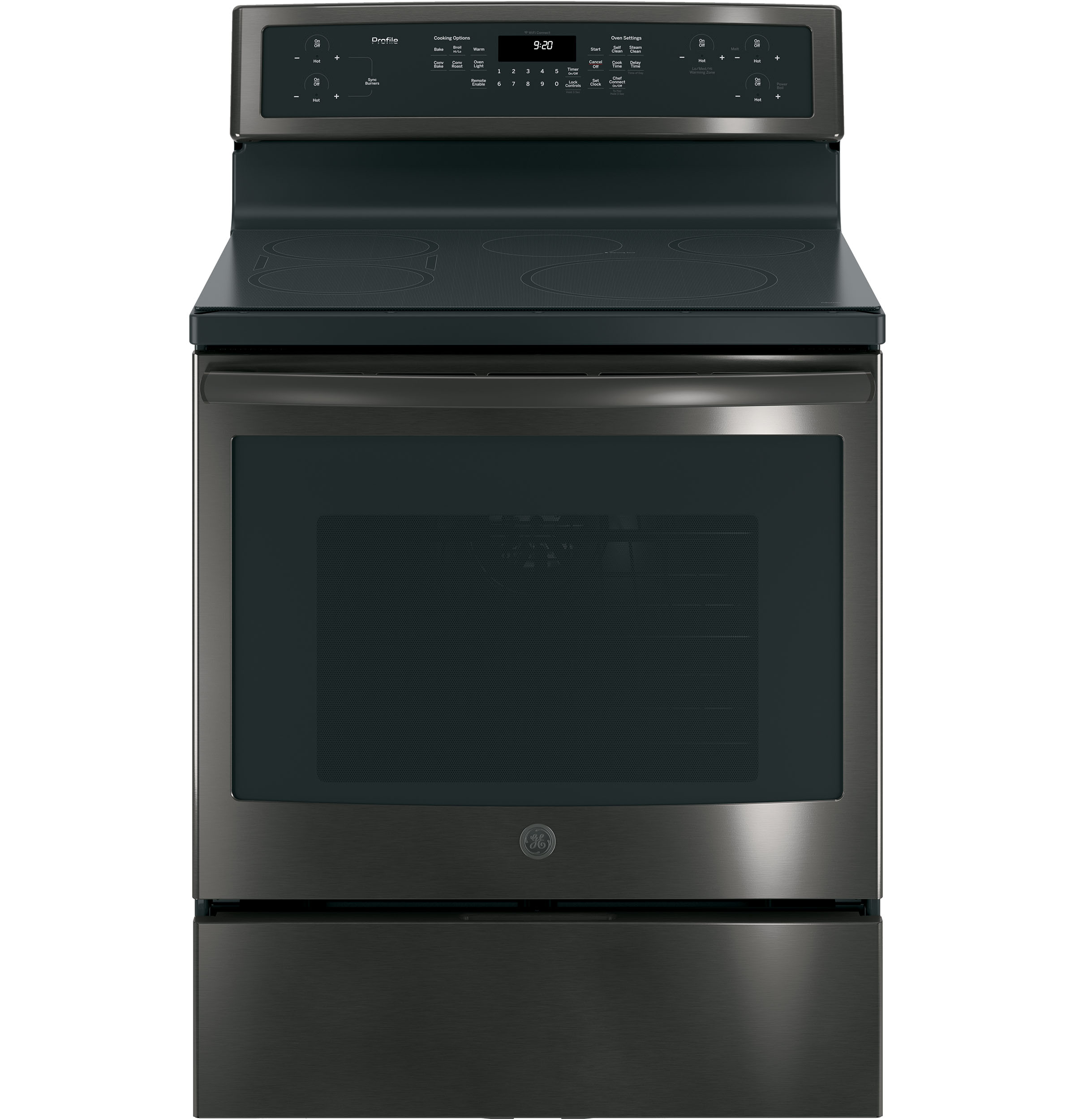 "GE Profile GE Profile™ Series 30"" Free-Standing Convection Range with Induction"