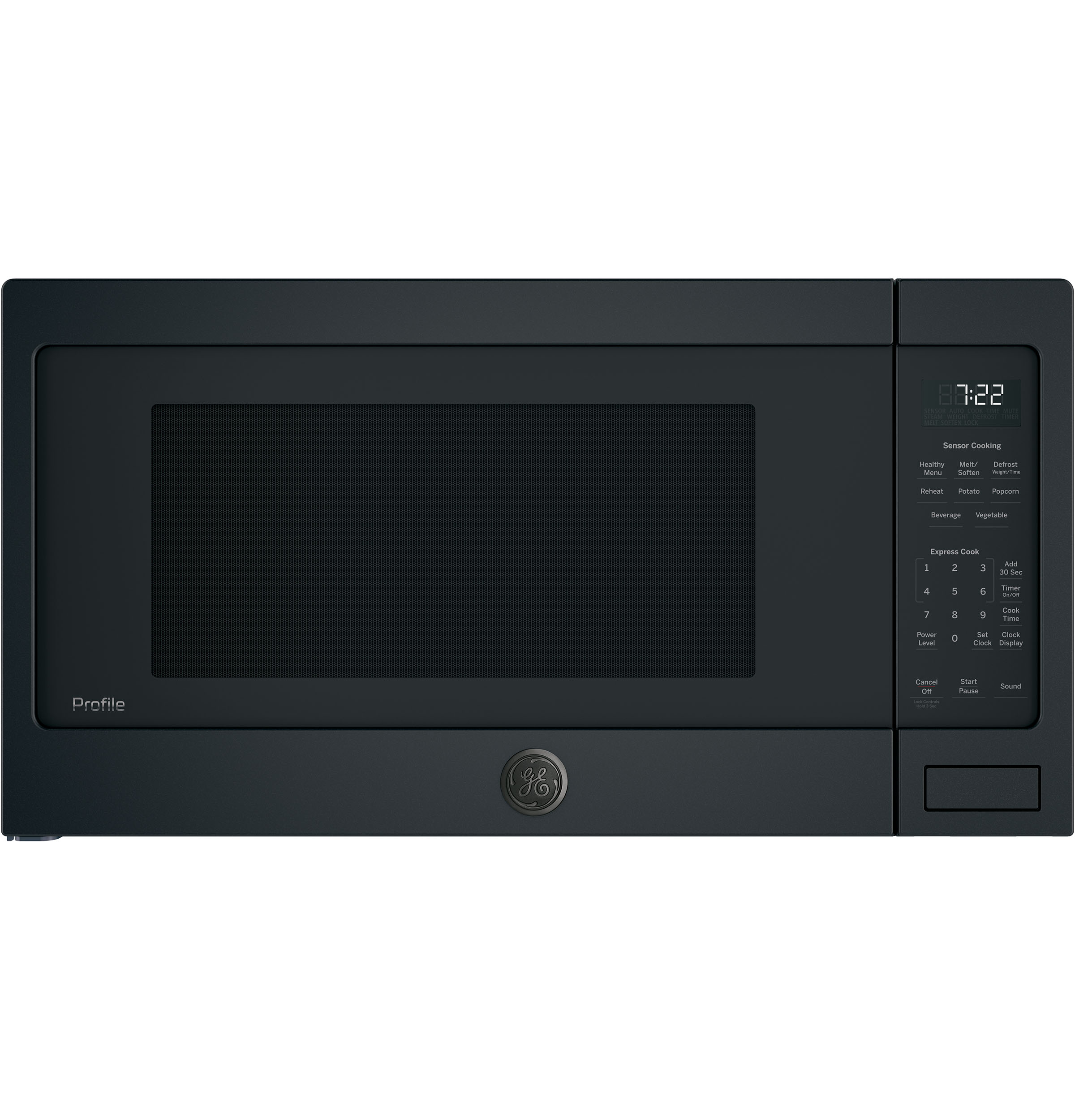 Model: PES7227FMDS | GE Profile GE Profile™ Series 2.2 Cu. Ft. Countertop Sensor Microwave Oven
