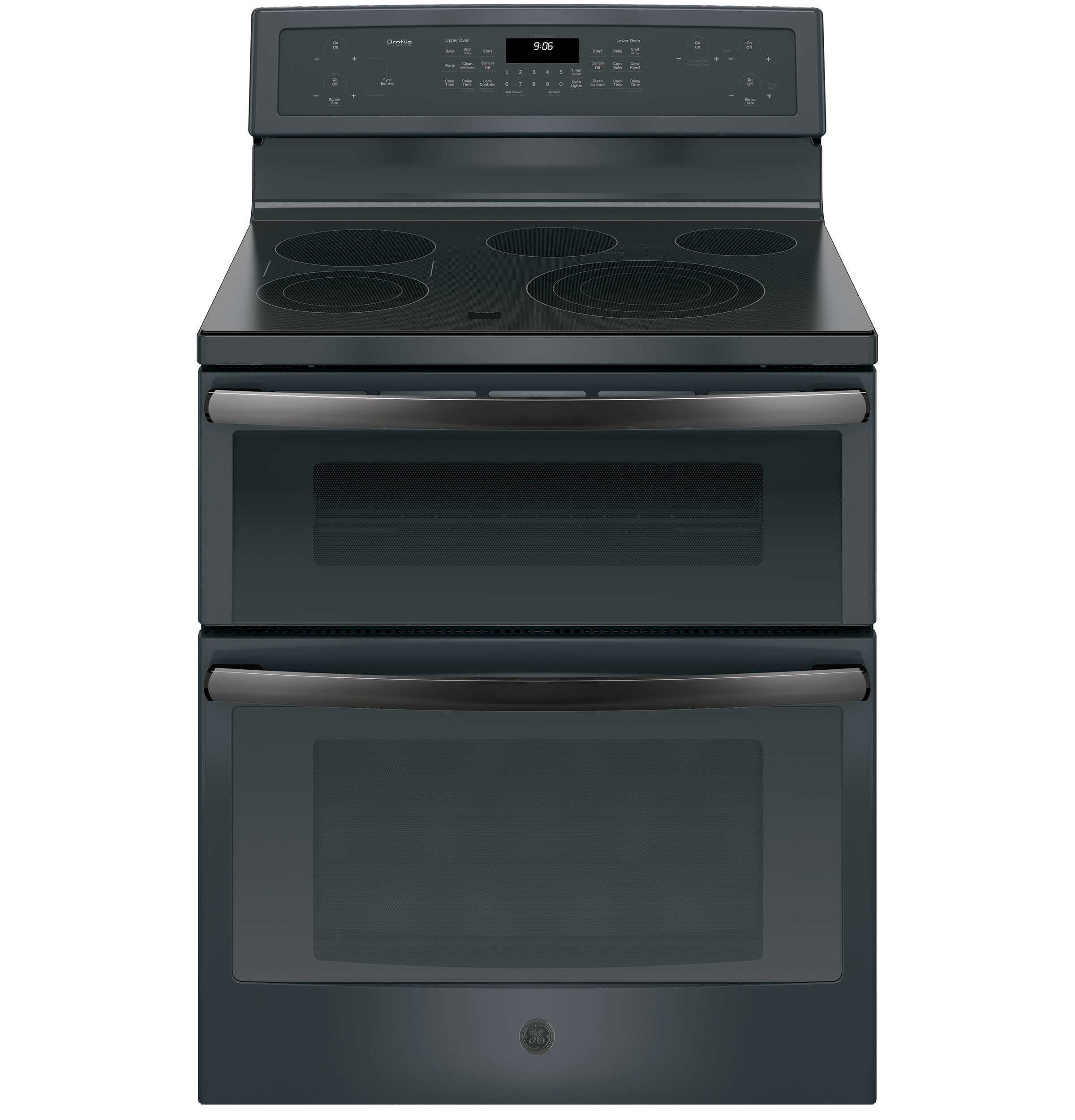 "GE Profile GE Profile™ Series 30"" Free-Standing Electric Double Oven Convection Range"