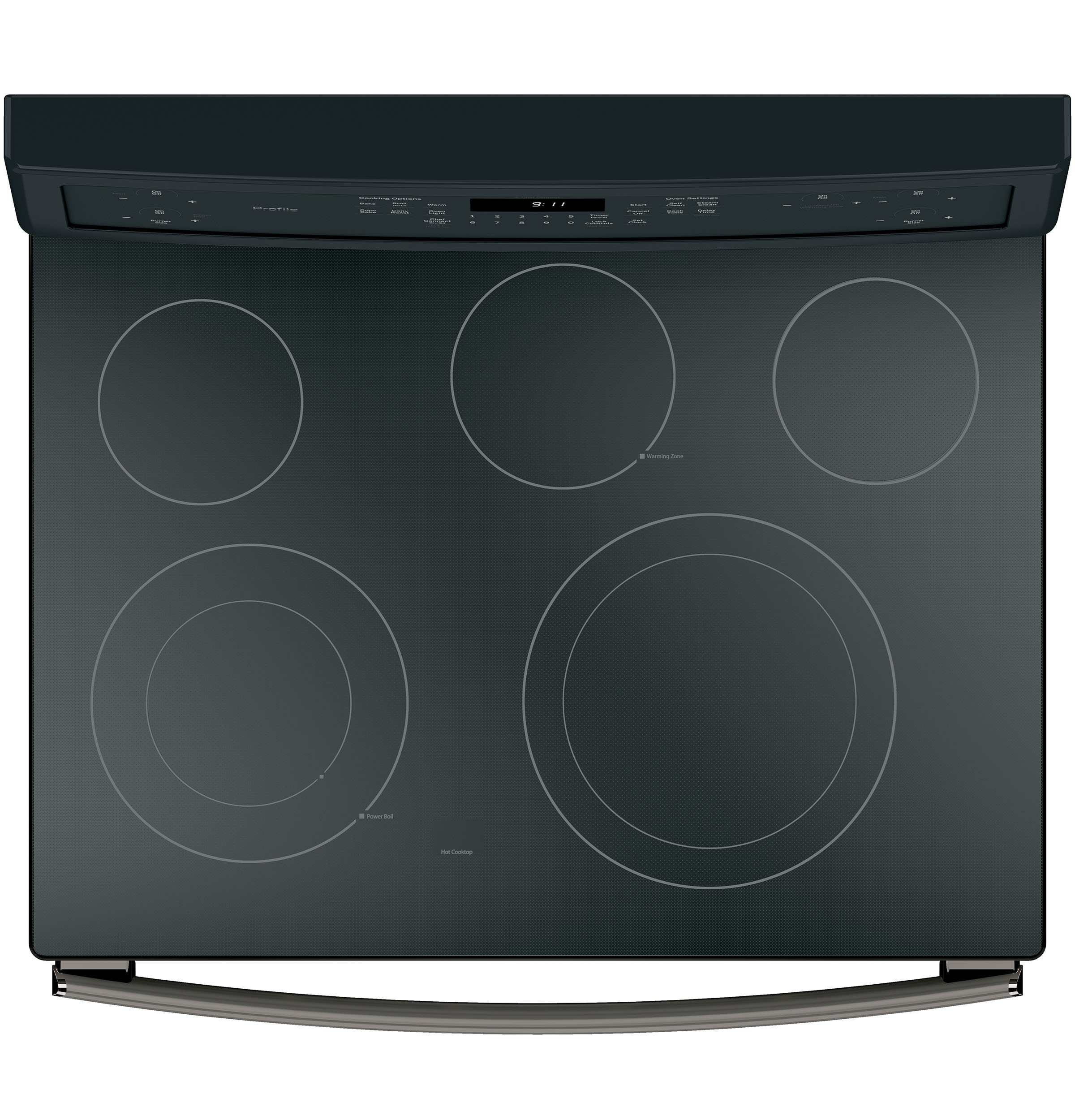 "Model: PB911FJDS | GE Profile GE Profile™ Series 30"" Free-Standing Electric Convection Range"