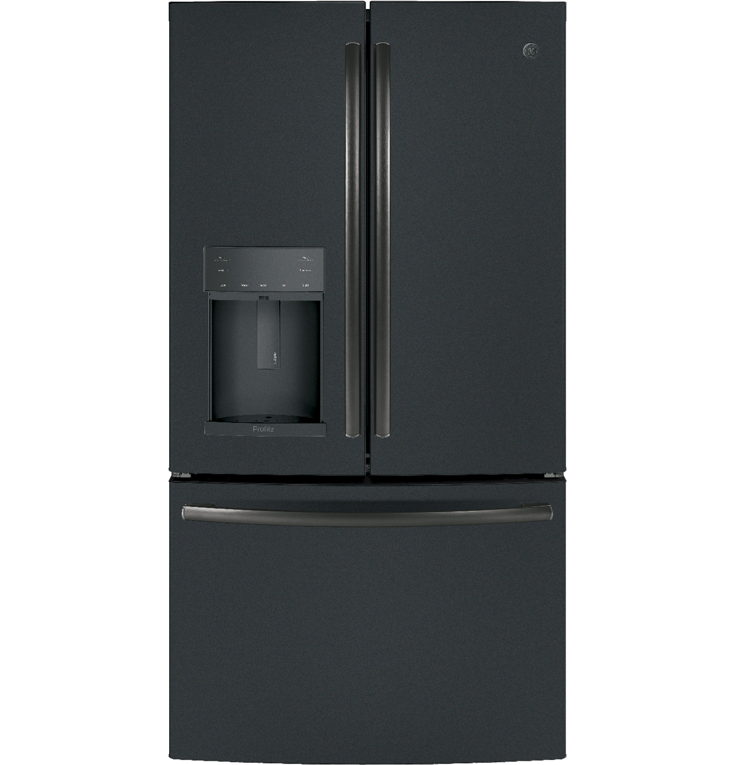 GE Profile™ Series ENERGY STAR® 22.2 Cu. Ft. Counter-Depth French-Door Refrigerator.