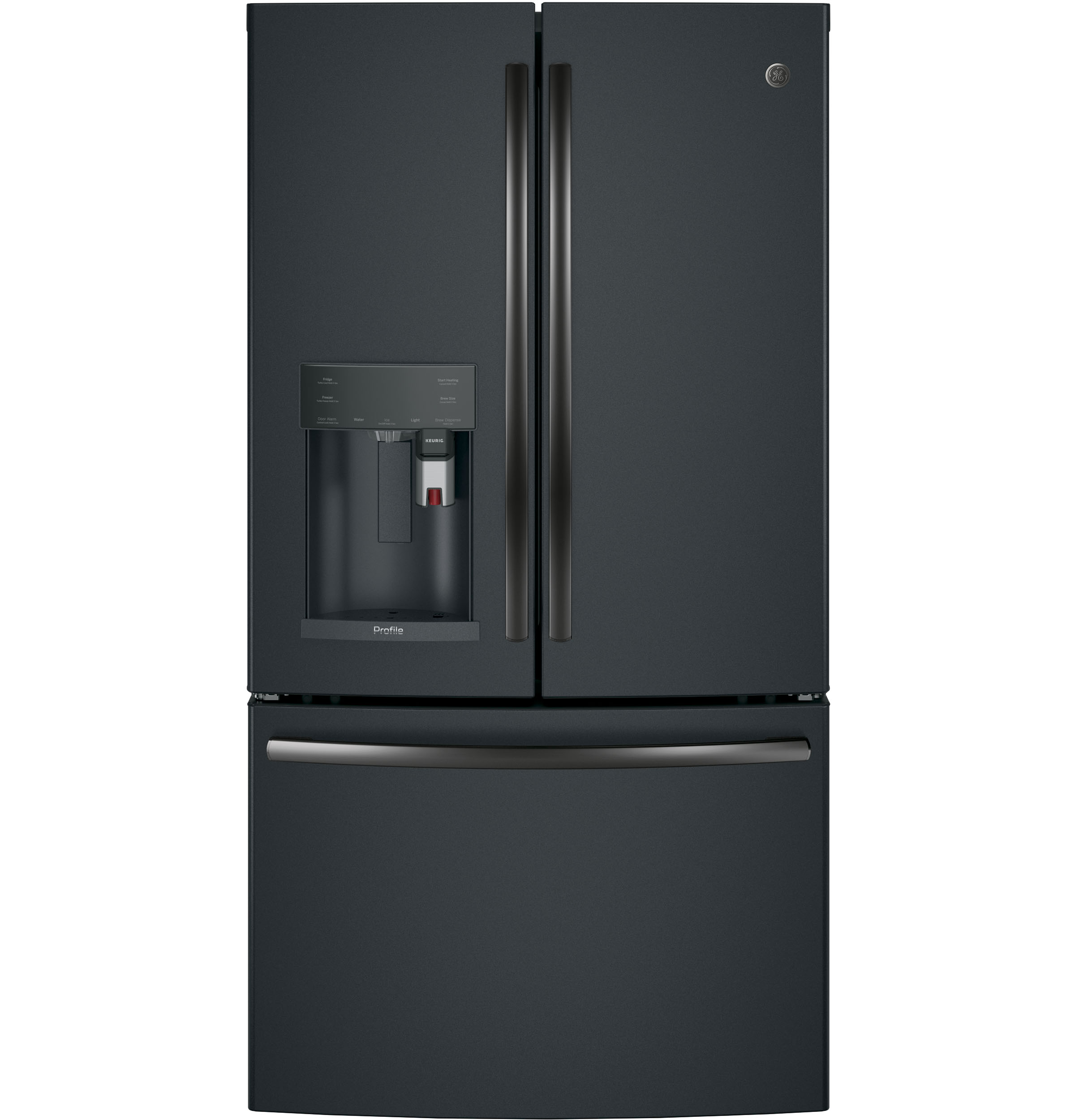 GE Profile™ Series ENERGY STAR®  French-Door Refrigerator with Keurig®  Brewing System