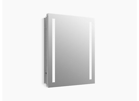 "Kohler  Verdera®   lighted medicine cabinet, 24"" W x 30"" H"