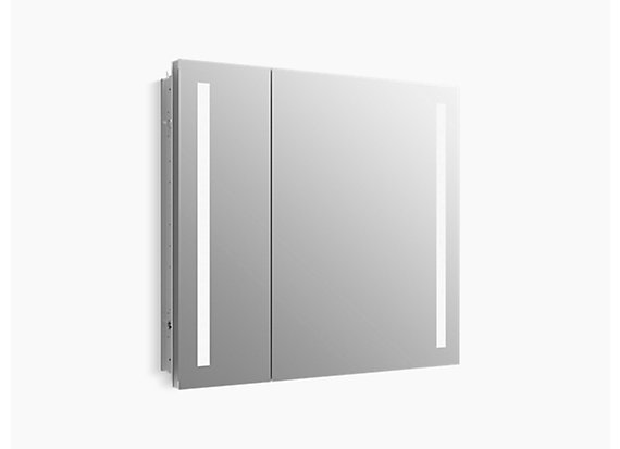 "Kohler  Verdera®   lighted medicine cabinet, 34"" W x 30"" H"