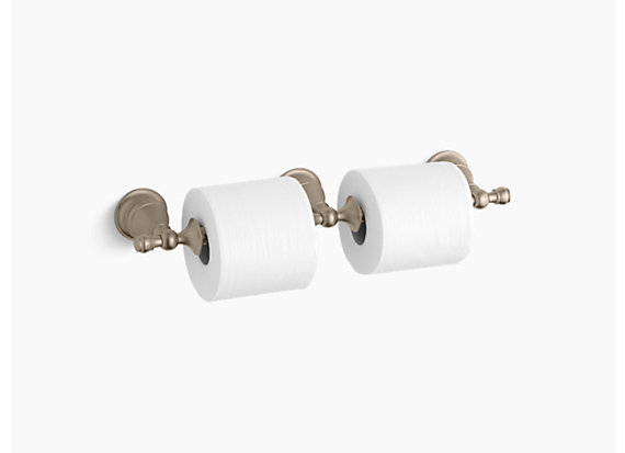 Kohler  Revival®   Double toilet tissue holder