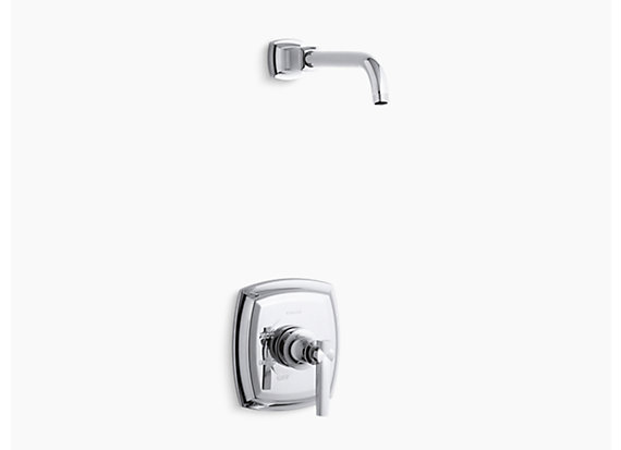 Kohler Margaux®   Rite-Temp® shower valve trim with lever handle, less showerhead