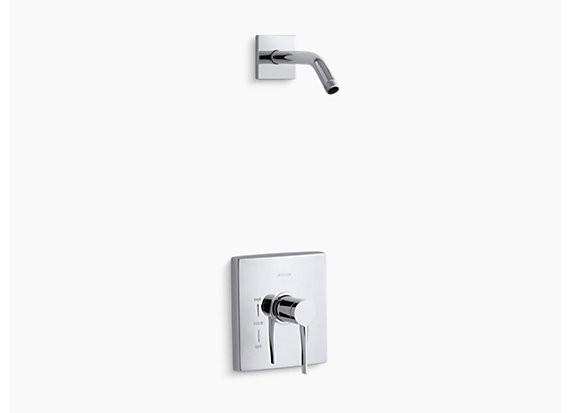 Kohler  Stance®   Rite-Temp® shower valve trim with lever handle, less showerhead