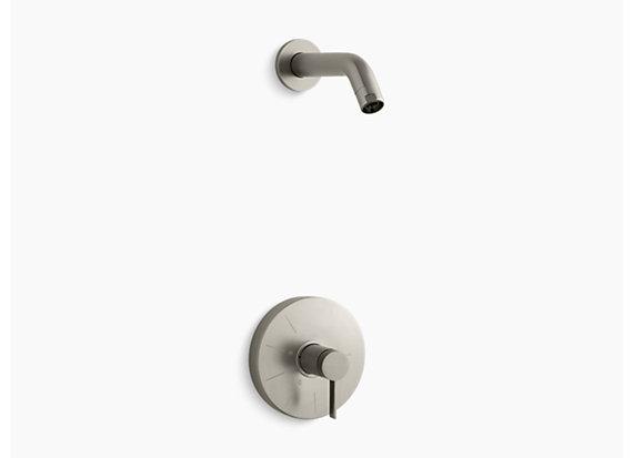 Kohler Stillness®   Rite-Temp® shower valve trim with lever handle, less showerhead