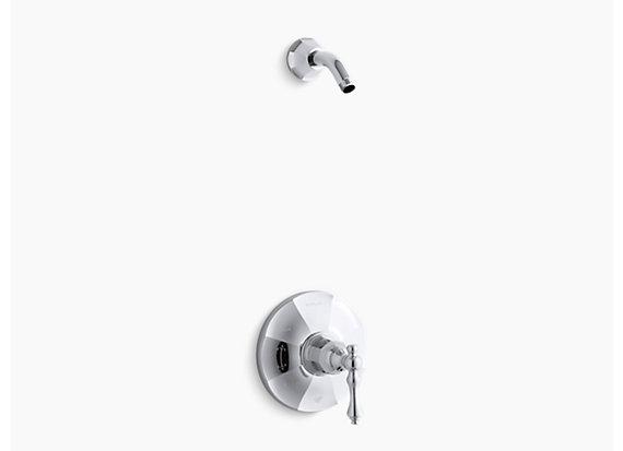 Kohler Kelston®   Rite-Temp® shower valve trim with lever handle, less showerhead