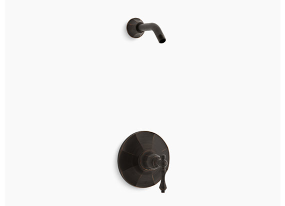 Kohler  Kelston®   Rite-Temp® shower valve trim with lever handle, less showerhead